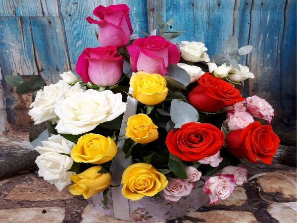 Mix de trandafiri